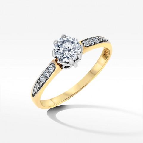 Złoty pierścionek 1900