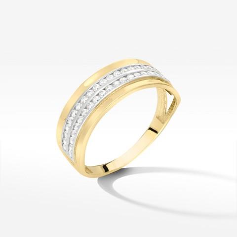 Złoty pierścionek 2000