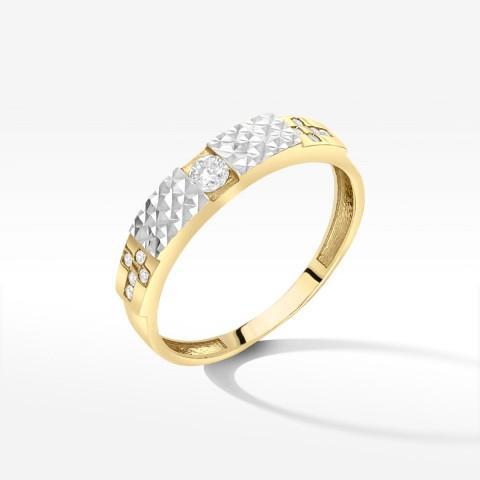 Złoty pierścionek rozm. 15