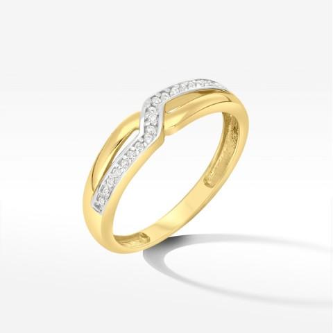 Złoty pierścionek rozm. 14