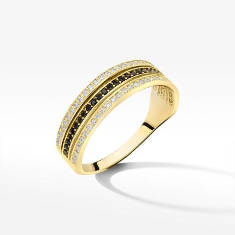 Złoty pierścionek rozm.19