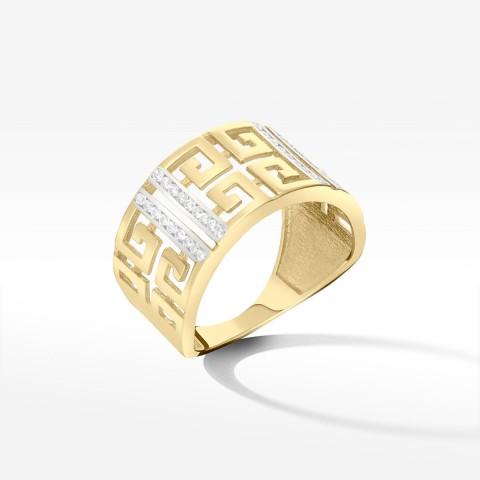 Złoty pierścionek rozm.15