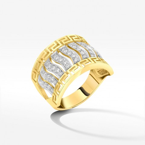 Pierścionek ze złota pr.585 rozm. 18
