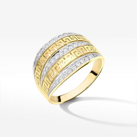 Pierścionek ze złota pr.585 rozm. 22