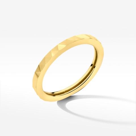 Pierścionek ze złota nowoczesny