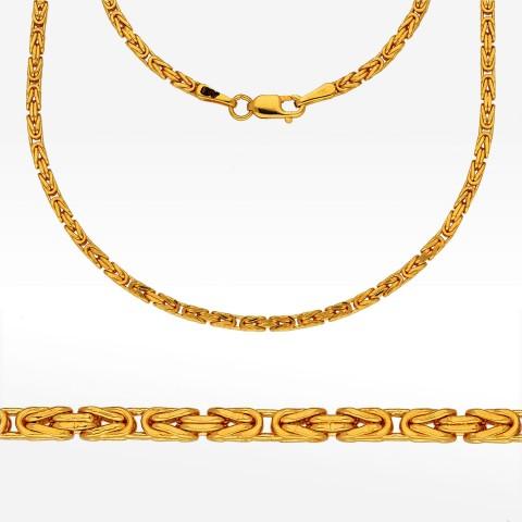Łańcuszek ze złota 55cm królewski