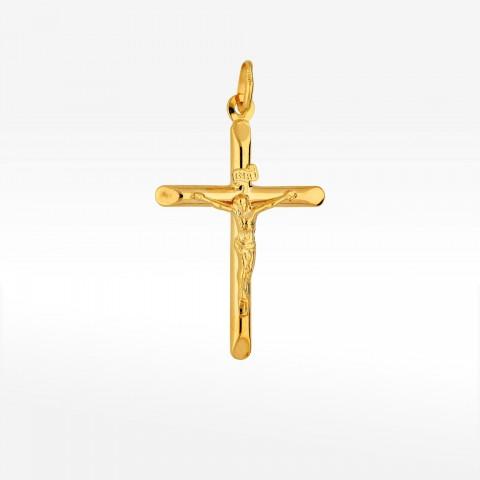 Zawieszka ze złota krzyżyk