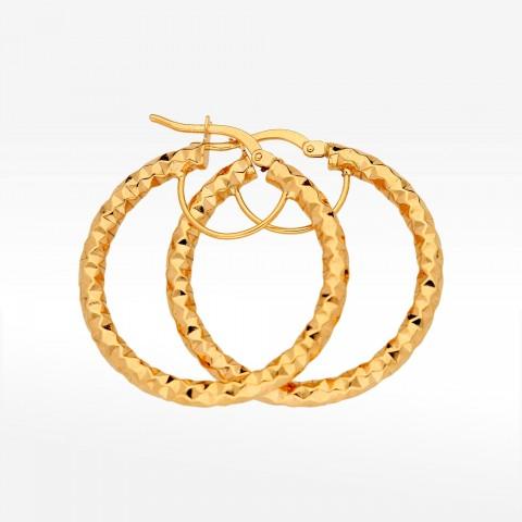 Kolczyki ze złota 2,9cm koła