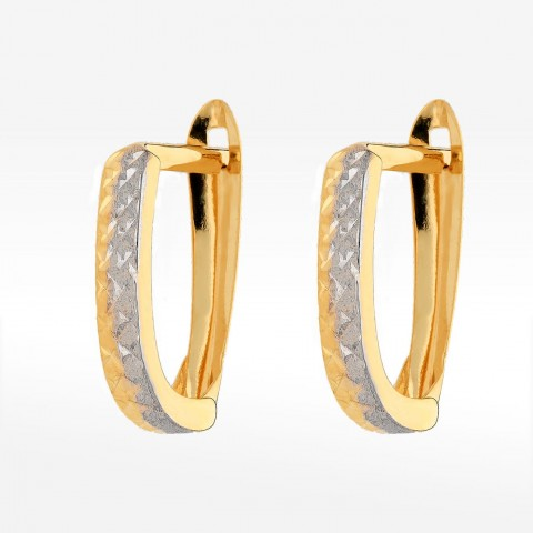 Kolczyki ze złota