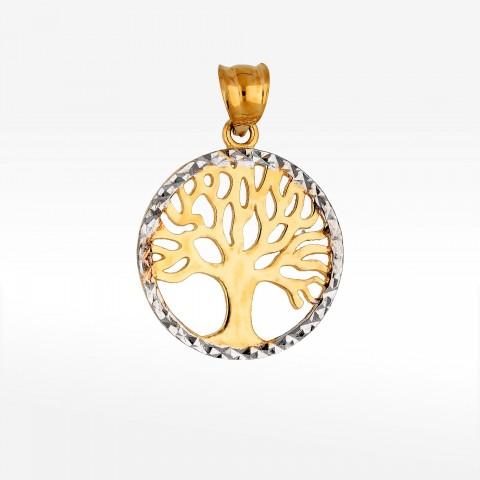 Zawieszka ze złota drzewo życia