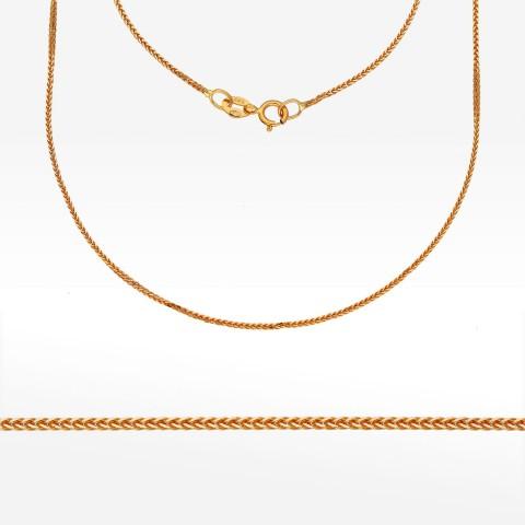 Łańcuszek ze złota 55cm lisi ogon pełny