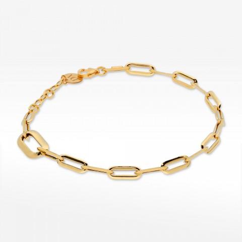 Dall'Acqua bransoletka ze złota długie ogniwa
