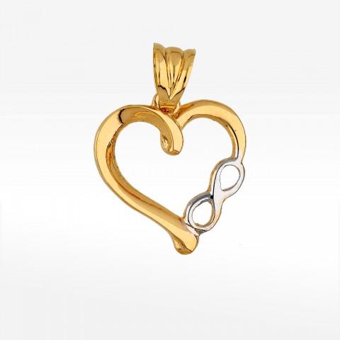Zawieszka ze złota nieskończona miłość