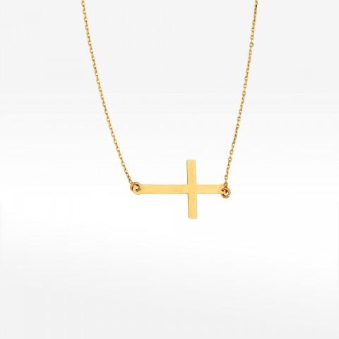 Celebrytka ze złota krzyż