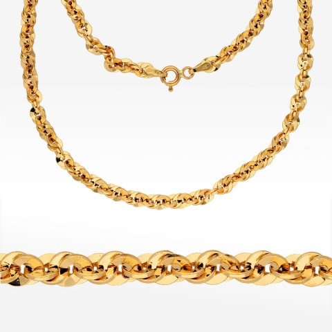 Łańcuszek ze złota 55cm kord