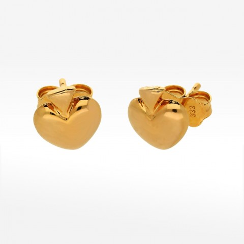 Kolczyki ze złota jabłuszko