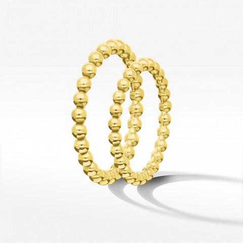 Obrączki ślubne z żółtego złota 2.2mm