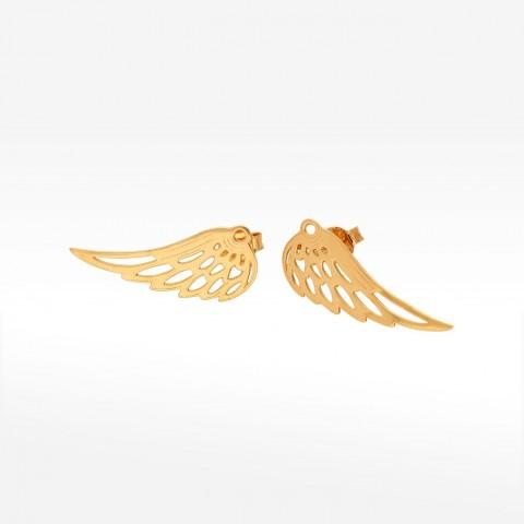 Kolczyki ze złota skrzydło
