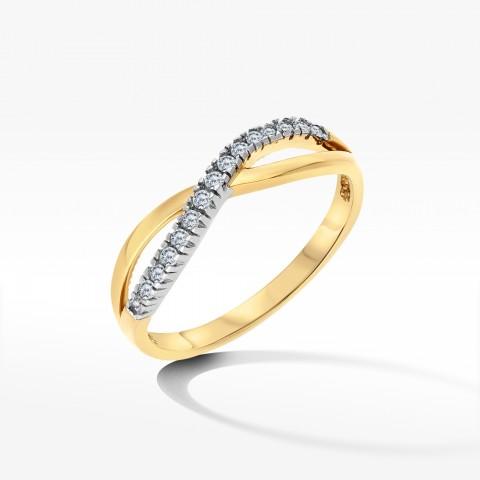 Złoty pierścionek 1910