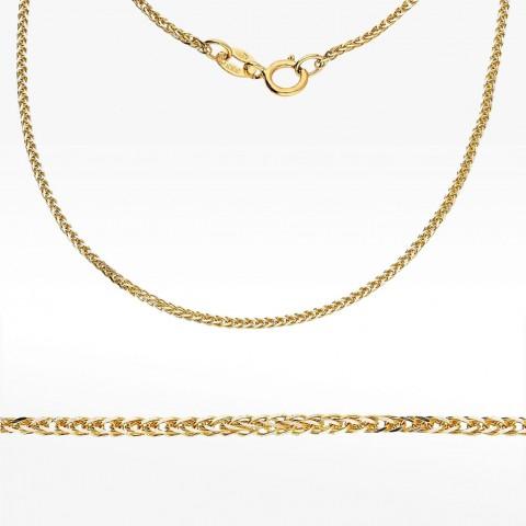 Łańcuszek ze złota 50cm splot lisi ogon