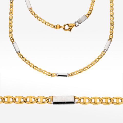 Łańcuszek ze złota 50cm pełny