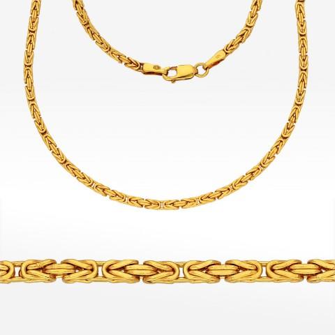 Łańcuszek ze złota 50cm królewski