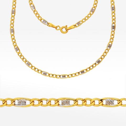 Łańcuszek ze złota 50cm Firago pełny