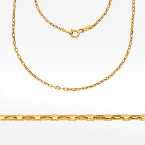 Łańcuszek ze złota 55cm ankier