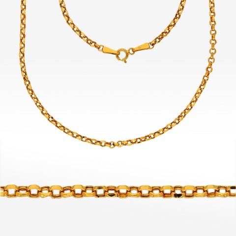 Łańcuszek ze złota 55cm rolo
