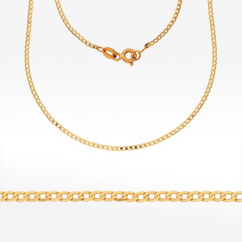 Łańcuszek ze złota 50cm pancerka