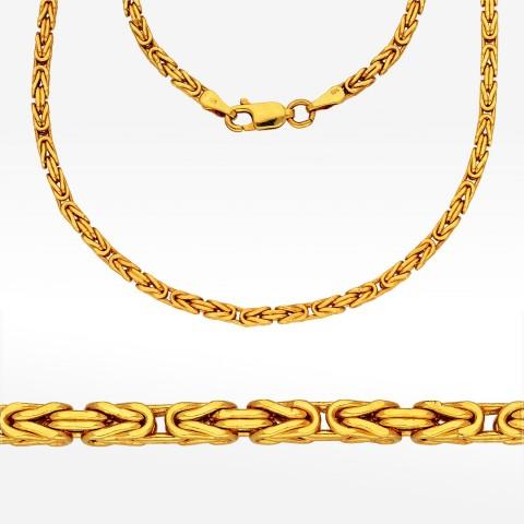 Łańcuszek ze złota 60cm królewski