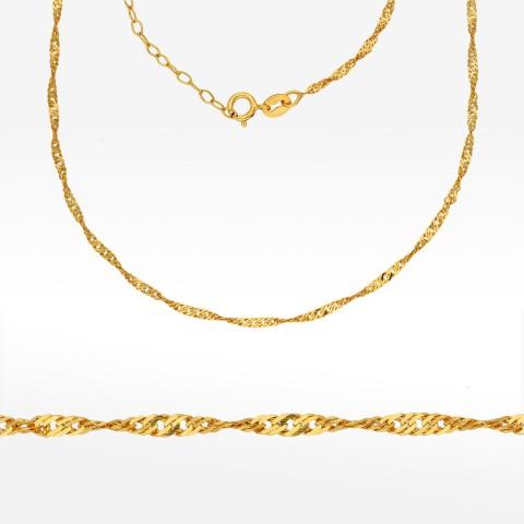 Łańcuszek ze złota 45cm kord