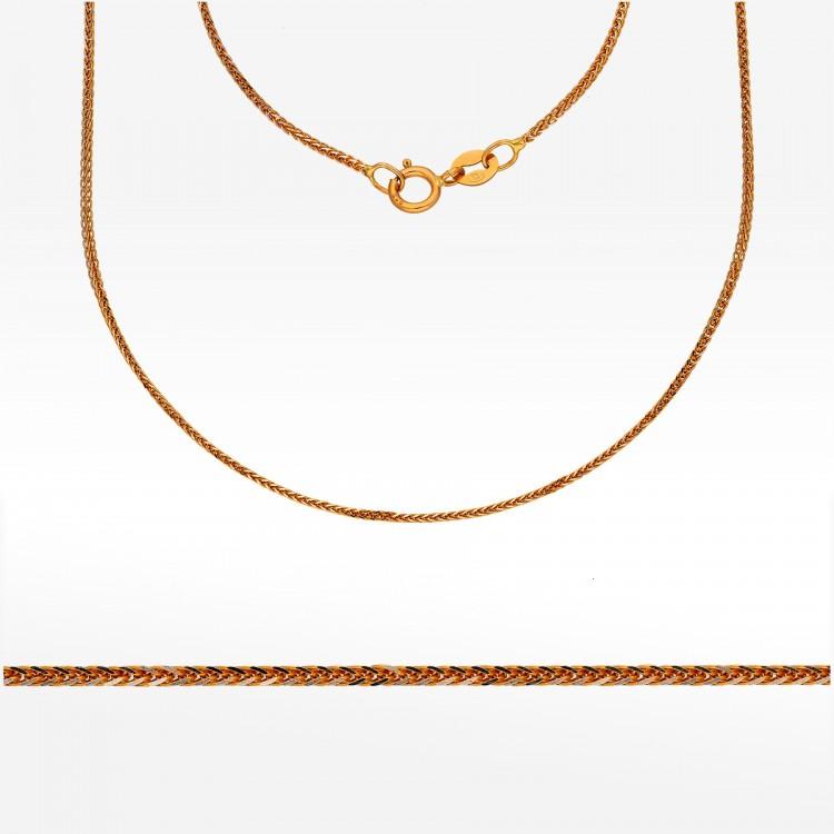Złoty łańcuszek 50cm