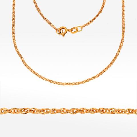 Łańcuszek ze złota 45cm