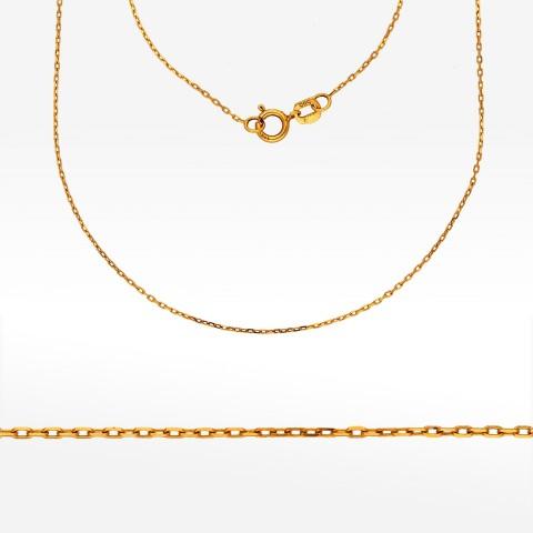 Łańcuszek ze złota 45cm ankier