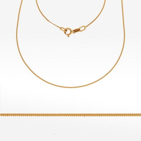 Łańcuszek ze złota 45cm pancerka