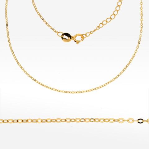 Łańcuszek ze złota 42-47cm ankier