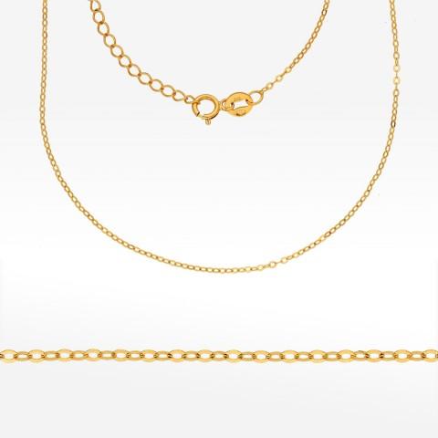 Łańcuszek ze złota 50cm rolo pełny
