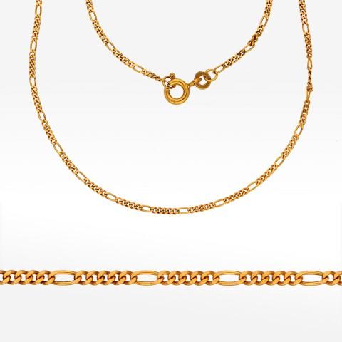 Łańcuszek ze złota 45cm Figaro