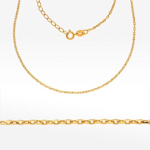 Łańcuszek ze złota 50cm ankier pełny