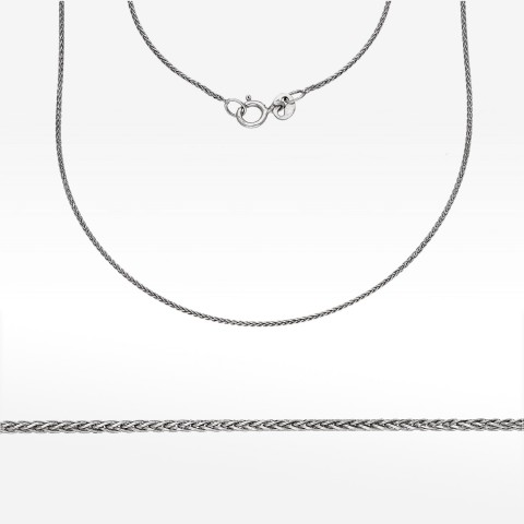 Łańcuszek ze złota 40cm Lisi ogon
