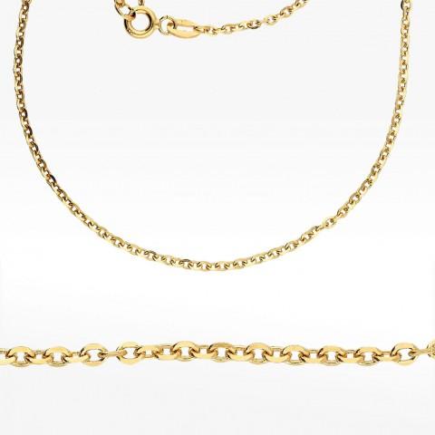 Złoty łańcuszek 55cm splot rolo