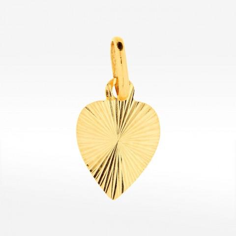 Zawieszka serce ze złota
