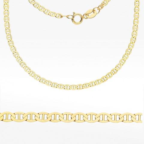 Złoty łańcuszek 50cm Gucci pełny