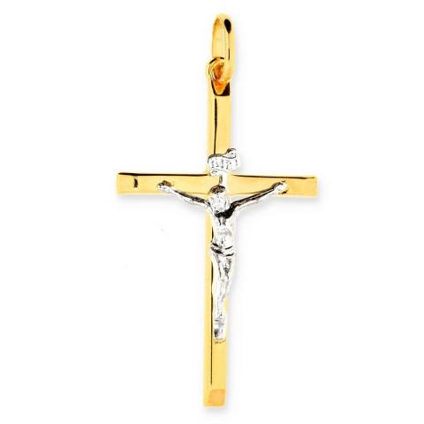 Zawieszka ze złota krzyż