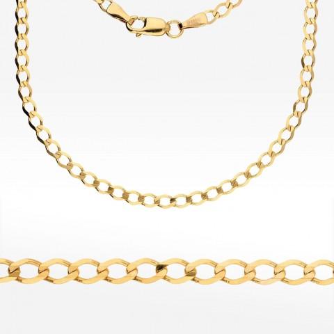 Łańcuszek ze złota 45cm splot pancerka