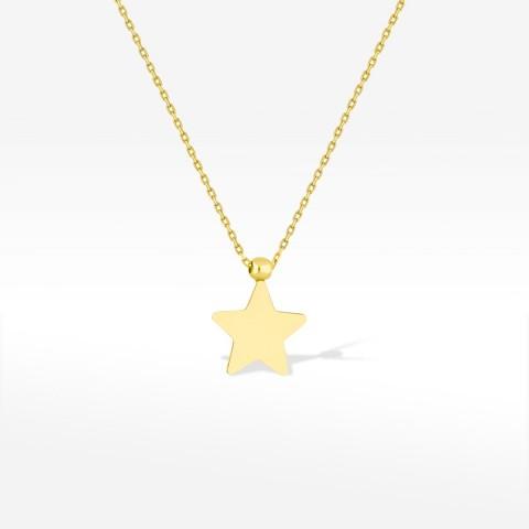 Celebrytka ze złota gwiazda