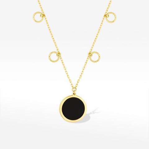 Biżuteria Dall'acqua złota celebrytka kółka