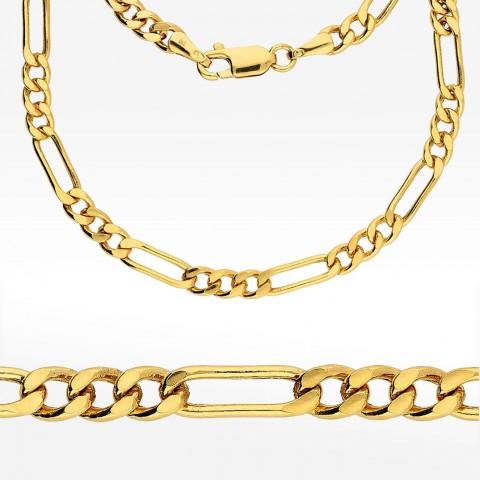 Łańcuszek ze złota 50cm splot Figaro