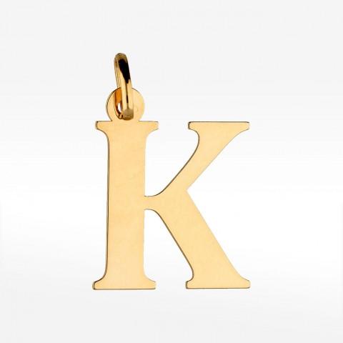 Złota literka K